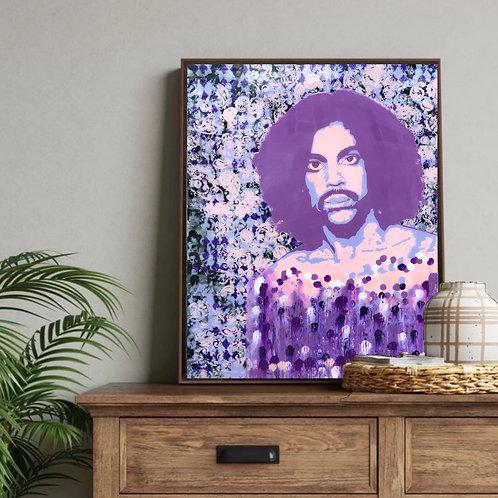 """24""""X 30"""" The Purple Icon"""