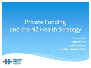 Healthcare Congress – Roger's presentation