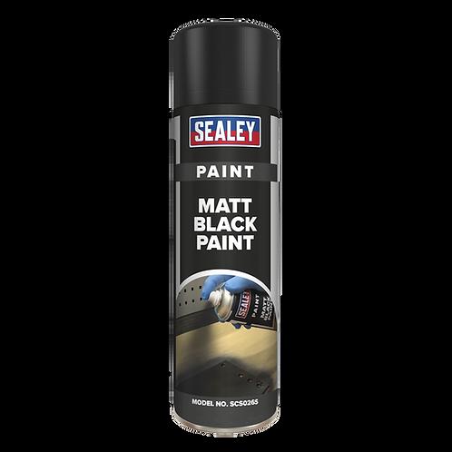 Black Matt Paint 500ml