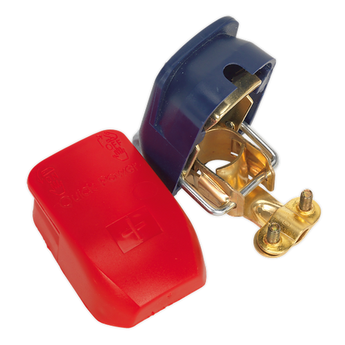Quick Release Battery Clamps Positive-Negative Pair