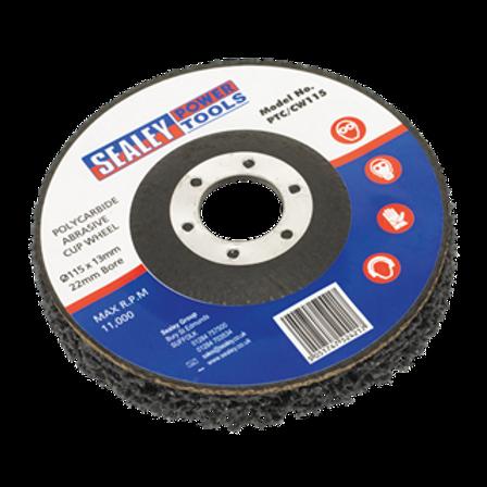 Polycarbide Cup Wheel Ø115 x 13 x 22mm