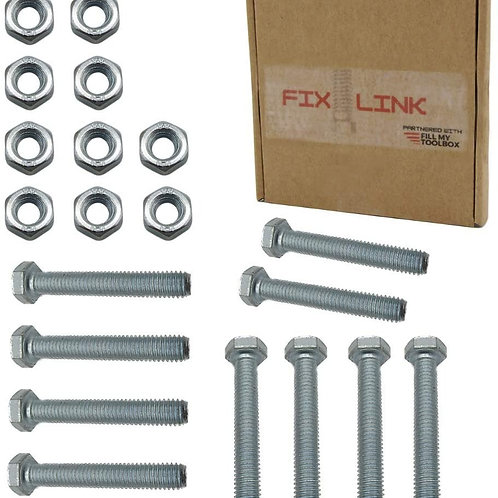M8 Nuts & Bolt 20 Pack