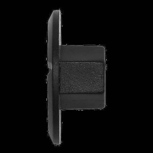 Locking Nut, Black, Ø25mm x 10mm, Mercedes - Pack of 20