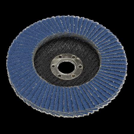 Flap Disc Zirconium Ø100mm 16mm Bore 60Grit