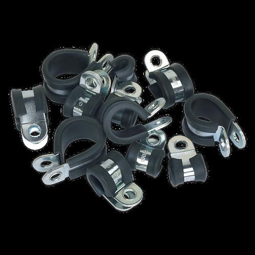 P-Clip Rubber Lined Assortment 60pc