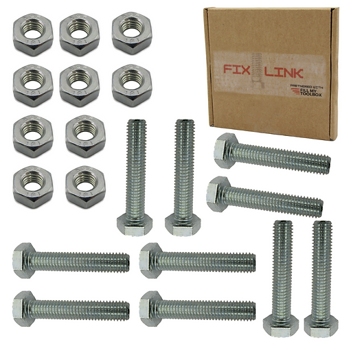 M10 Nuts & Bolt 20 Pack