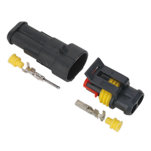 Superseal Male & Female Connector 2-Way 1pr