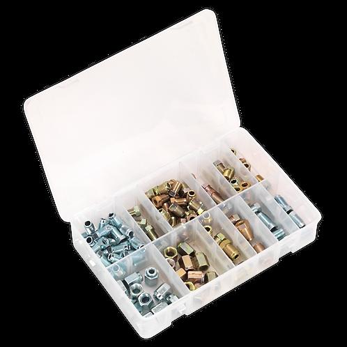 Brake Pipe Nut Assortment 200pc - Metric & Imperial