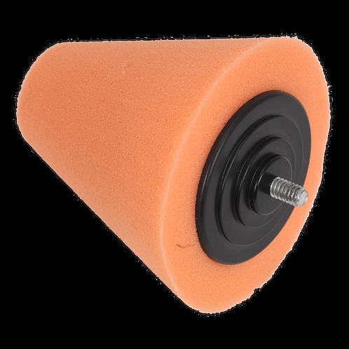 Buffing & Polishing Foam Cone Orange/Firm