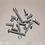 Thumbnail: Setscrew, Nut & Washer Assortment 408pc High Tensile M6 Metric