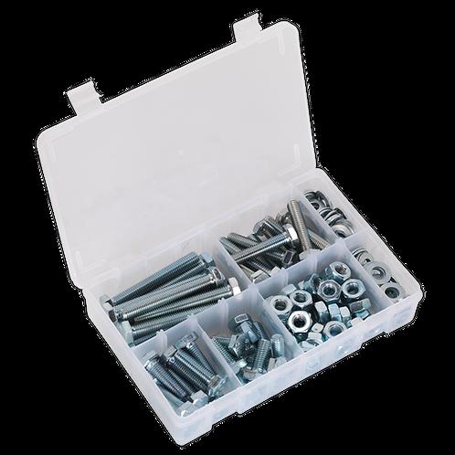 Setscrew, Nut & Washer Assortment 150pc High Tensile M10 Metric