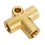 Thumbnail: Brake Tube Connector M10 x 1mm 3-Way