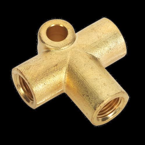 Brake Tube Connector M10 x 1mm 3-Way