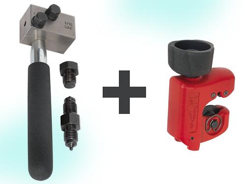 On-Vehicle Brake Pipe Flaring Tool +Brake Pipe Cutter FREE