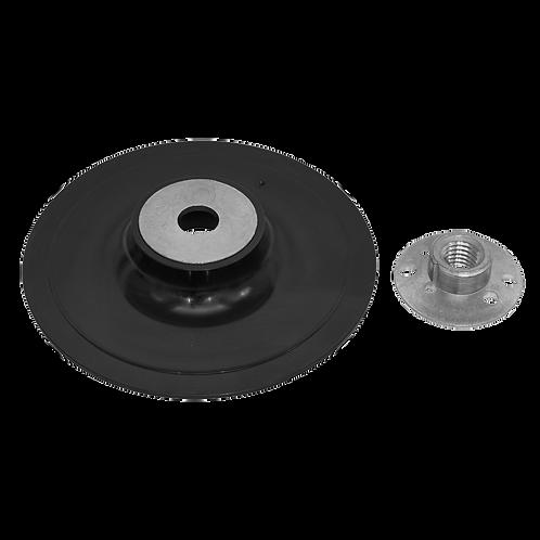 Rubber Backing Pad Ø125mm - M14 x 2mm