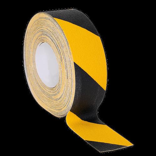Anti-Slip Tape Self-Adhesive Black Yellow 50mm x 18m