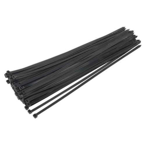 Cable Tie 650 x 12mm Black Pack of 50