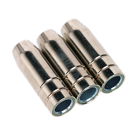 mig955.v2 Conical Nozzle MB15 Pack of 3.