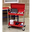 Thumbnail: Trolley 2-Level Heavy-Duty with Lockable Top