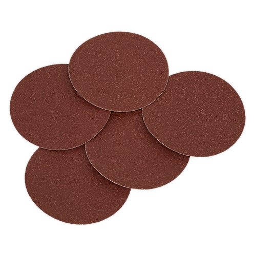 Sanding Disc Ø125mm 80Grit Adhesive Backed Pack of 5