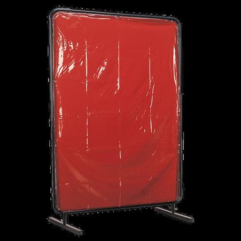 Workshop Welding Curtain to BS EN 1598 & Frame 1.3 x 1.75m