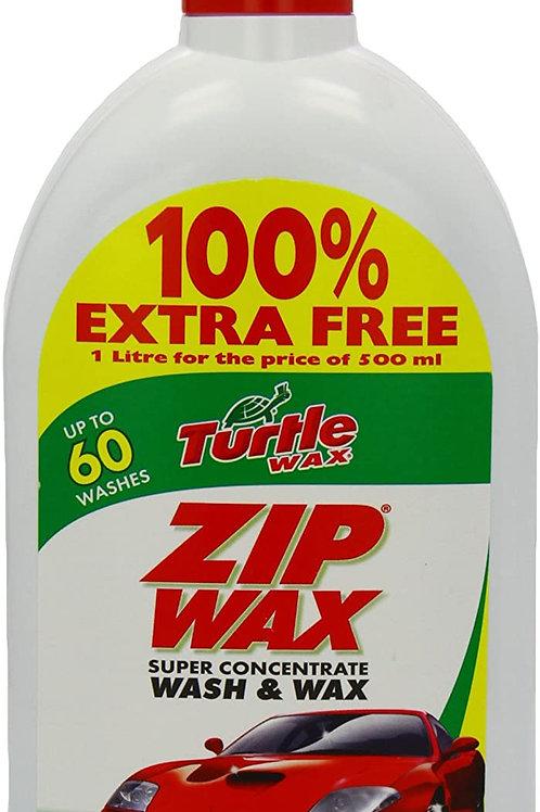 Turtle Wax Zip wax Wash and Wax 1 Litre