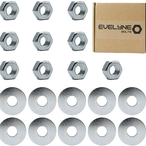 M10 Nuts & Washers Set