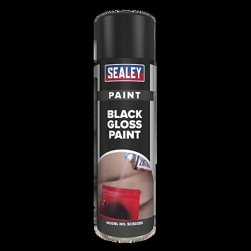 Black Gloss Paint 500ml