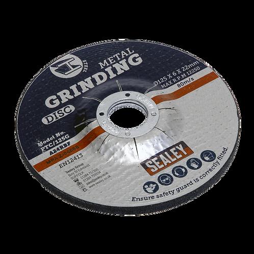 Grinding Disc Ø125 x 6mm 22mm Bore