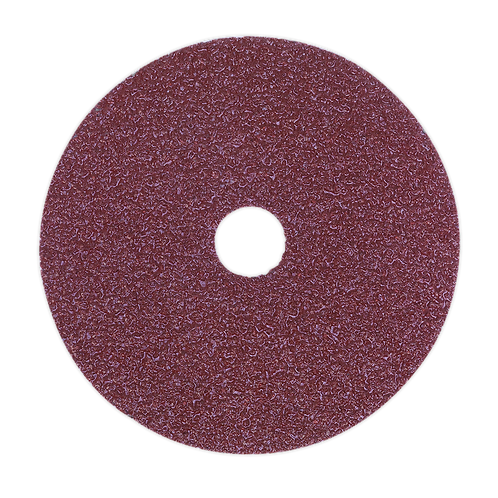 Sanding Disc Fibre Backed Ø115mm 50Grit Pack of 25