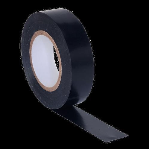 PVC Insulating Tape 19mm x 20m Black Pack of 10