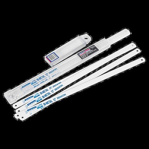 Hacksaw Blade 300mm Bi-Metal Vari-Pitch 20/24tpi Pack of 10