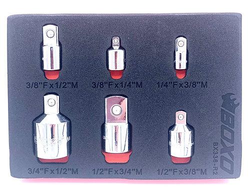 6 pc Adaptor Set - Boxo