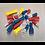 Thumbnail: Crimp Terminal Assortment 200pc Blue, Red & Yellow