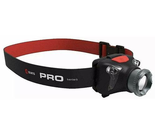 Elwis Pro H4R Focusing Head Torch 410 Lumen 5 Watt Cree XPG2-S2 LED Rechargeable
