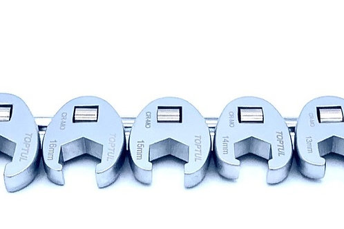 """10 Piece 3/8"""" Dr. Metric Crows Foot Wrench Set"""