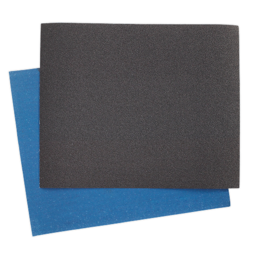 Emery Sheet Blue Twill 230 x 280mm 80Grit Pack of 25