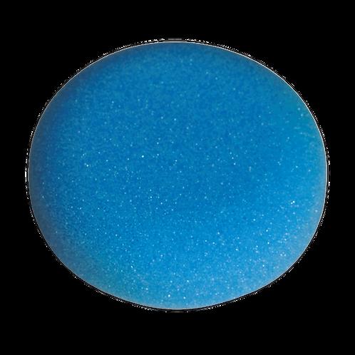 Buffing & Polishing Foam Head Hook-and-Loop Ø80 x 25mm Blue/Medium