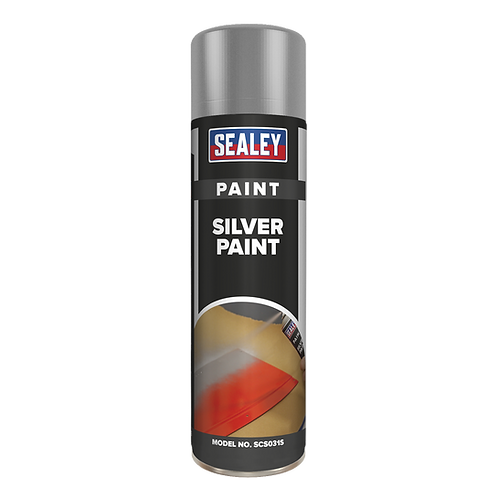 Silver Paint 500ml