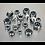 Thumbnail: Nylon Lock Nut Assortment 300pc M6-M12 DIN 982 Metric