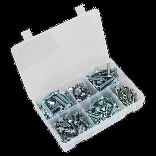 Setscrew Assortment 150pc Metric M5-M10 High Tensile DIN 933