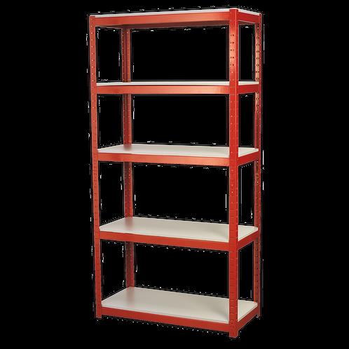 Racking Unit with 5 Shelves 500kg Capacity Per Level