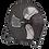 "Thumbnail: Industrial High Velocity Floor Fan 18"" 230V - Sealey"