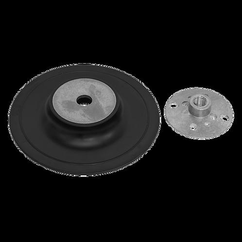 Rubber Backing Pad Ø100mm - M10 x 1.25mm