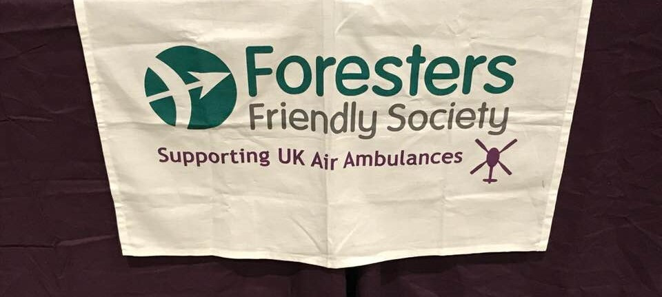 Foresters Brass are helping to raise money and support for the Air Ambulances across the UK
