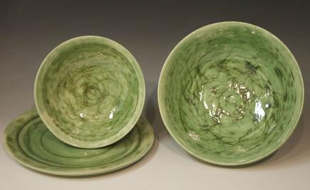 Celadon Bowls