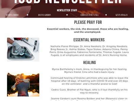 ICSB Newsletter: May 24, 2020 Issue 3