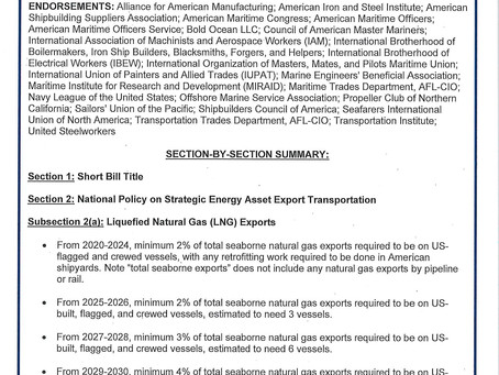 H.R. 3829, Energizing American Shipbuilding Act of 2019