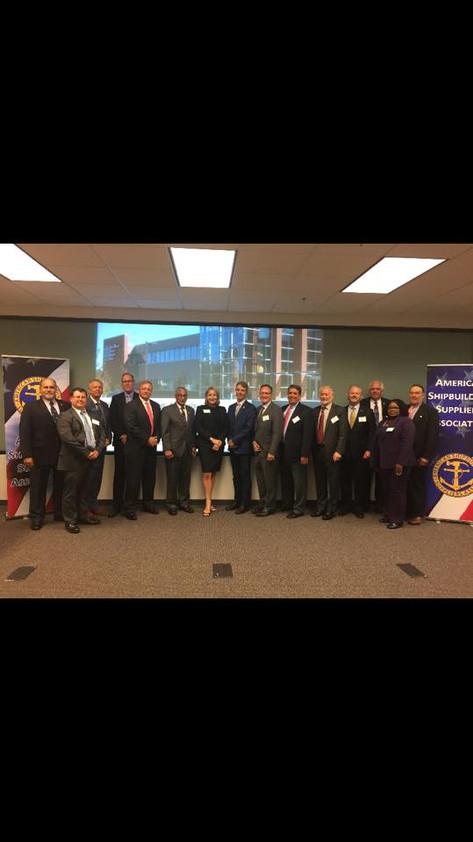 ASSA Group Photo with Congressman Scott and Congressman Wittman