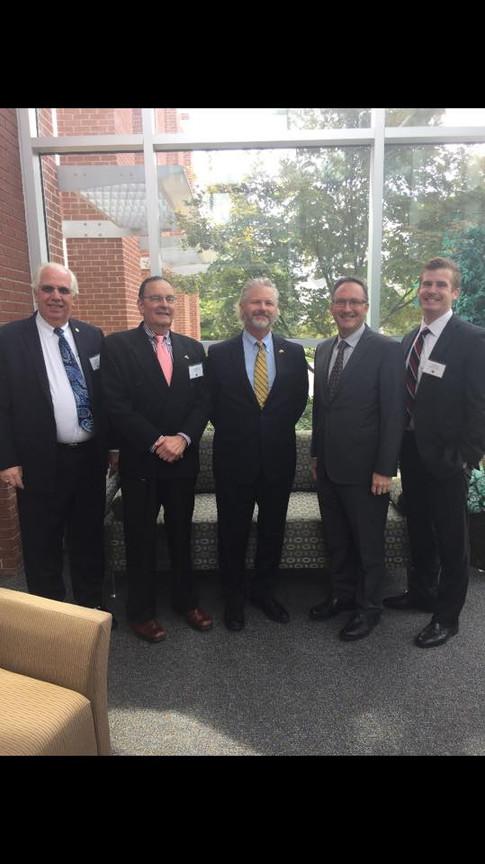 Carl Fisher, Allen Baker, Dr. Eric Weisel, Marc Steiner, Adam Jost